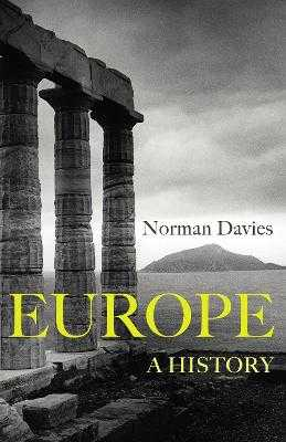 Europe: A History - Davies, Norman