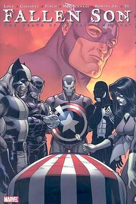 Fallen Son: The Death of Captain America - Loeb, Jeph (Text by)