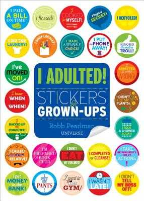 I Adulted! - Pearlman, Robb