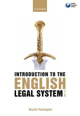 Introduction to the English Legal System - Partington, Martin