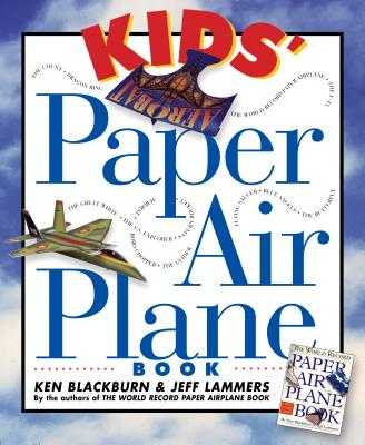 Kids Paper Plane Book - Blackburn, Ken
