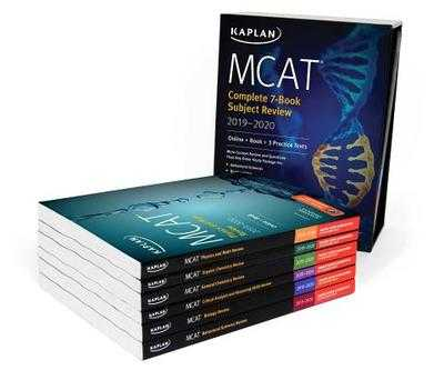 MCAT Complete 7-Book Subject Review 2019-2020: Online + Book + 3 Practice Tests - Kaplan Test Prep