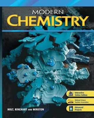 Modern Chemistry: Student Edition 2009 - Holt Rinehart and Winston (Prepared for publication by)