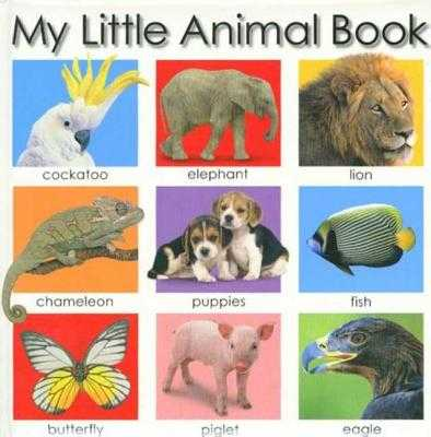 My Little Animal Book - Priddy, Roger