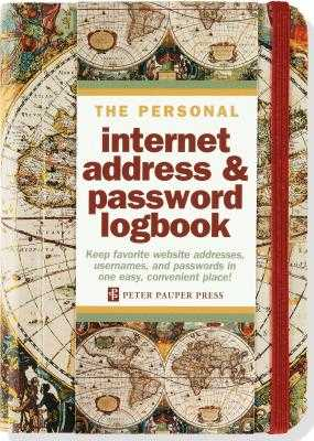 Old World Internet Address & Password Logbook - Peter Pauper Press (Creator)
