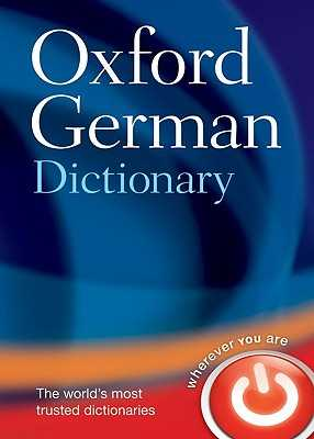 Oxford German Dictionary - Oxford Languages