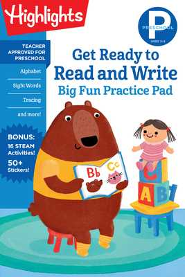 Preschool Get Ready to Read and Write Big Fun Practice Pad - Highlights Learning (Creator)