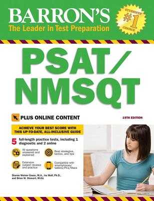PSAT/NMSQT with Online Tests - Wolf, Ira K., and Green, Sharon Weiner, and Stewart, Brian W.