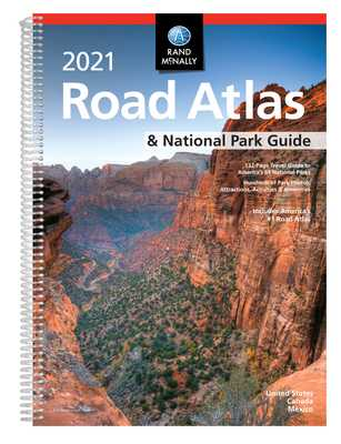 Rand McNally 2021 Road Atlas & National Park Guide - Rand McNally