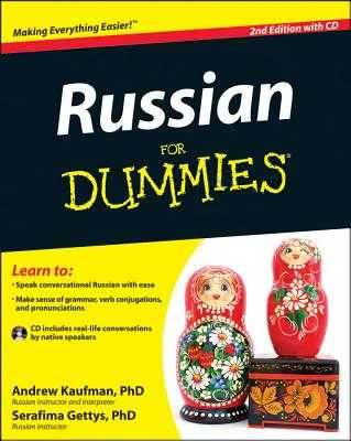 Russian for Dummies - Kaufman, Andrew, Dr., and Gettys, Serafima