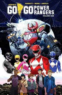 Saban's Go Go Power Rangers Vol. 1 - Parrott, Ryan, and Angulo, Raul
