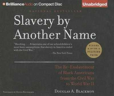 Slavery by Another Name: The Re-Enslavement of Black Americans from the Civil War to World War II - Blackmon, Douglas A, and Boutsikaris, Dennis (Read by)