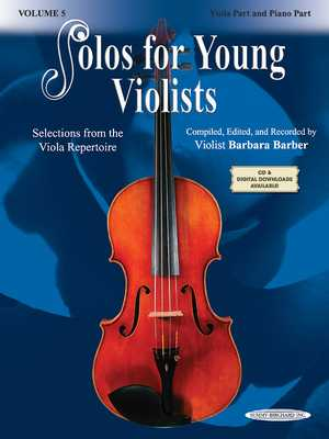 Solos for Young Violists, Volume 5 - Barber, Barbara