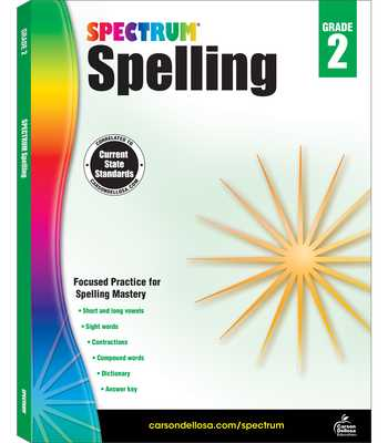 Spectrum Spelling, Grade 2 - Spectrum (Compiled by)