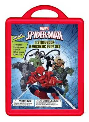 Spider-Man: An Amazing Book and Magnetic Play Set: Book and Magnetic Play Set -