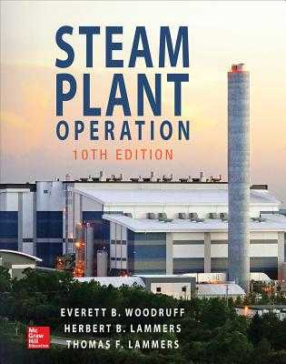 Steam Plant Operation - Woodruff, Everett B., and Lammers, Herbert B., and Lammers, Thomas F.