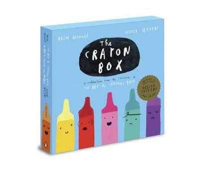The Crayon Box: The Day the Crayons Quit Slipcased Edition - Daywalt, Drew, and Jeffers, Oliver (Illustrator)