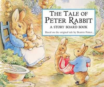 The Tale of Peter Rabbit Story Board Book - Potter, Beatrix