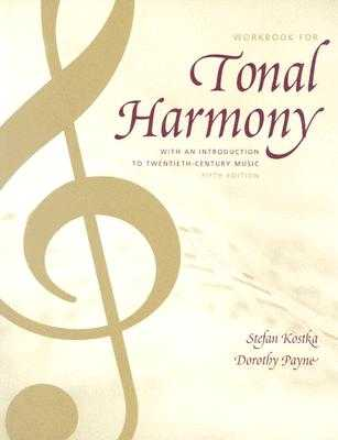 Tonal Harmony Wkbk with Wkbk Audio CD and Finale CD-ROM - Kostka, Stefan