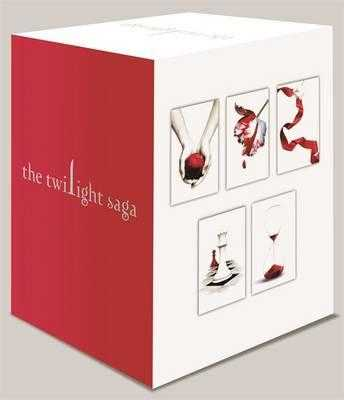 Twilight Saga 5 Book Set White Cover - Meyer, Stephenie