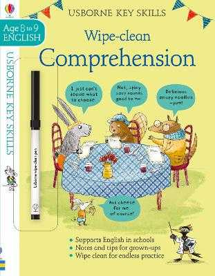 Wipe-Clean Comprehension 8-9 - Young, Caroline