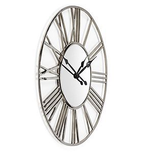 Bilquisse Wall Clock Silver Color Guide Trends Z